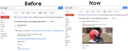 Gmail images now shown by default
