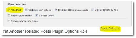 yarpp-screen-options