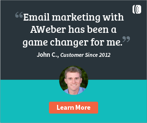 Email marketing with Aweber has been a game changer for me.