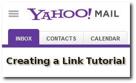 Yahoo Link Tutorial